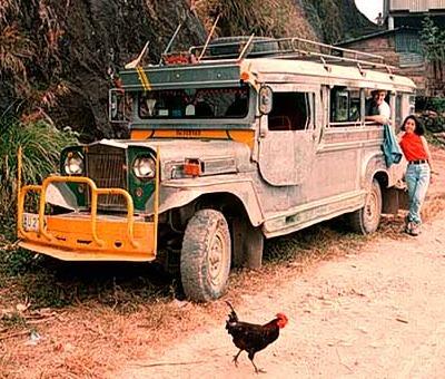 jeepney - Old Jeepney - Philippine Photo Gallery